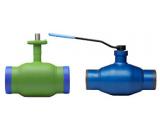 Краны шаровые для воды, пара, газа, пропан-бутана