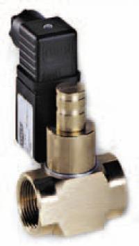 Компактные нормально открытые газовые клапаны ручной взвод MP16/RM N.A.