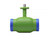 Краны шаровые стандартные для воды под сварку, тип AH30 стандартные стальные
