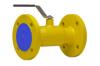 Краны шаровые стандартные для газа фланцевые тип АН30gk стальные