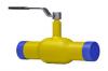 Краны шаровые стандартные для газа под сварку тип АН30g стальные