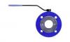 Краны шаровые полнопроходные для воды фланцевые тип WK-2а стальные